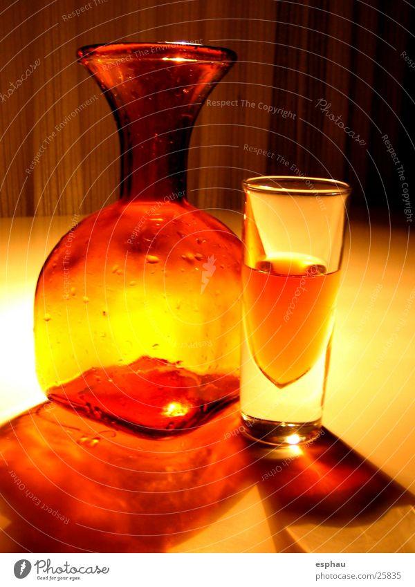 orangeobjekt rot gelb Licht Karaffen Getränk Stil Dinge Lichtspiel Bar Nachtleben Alkohol Beleuchtung Schatten Glas Foyer Farbe