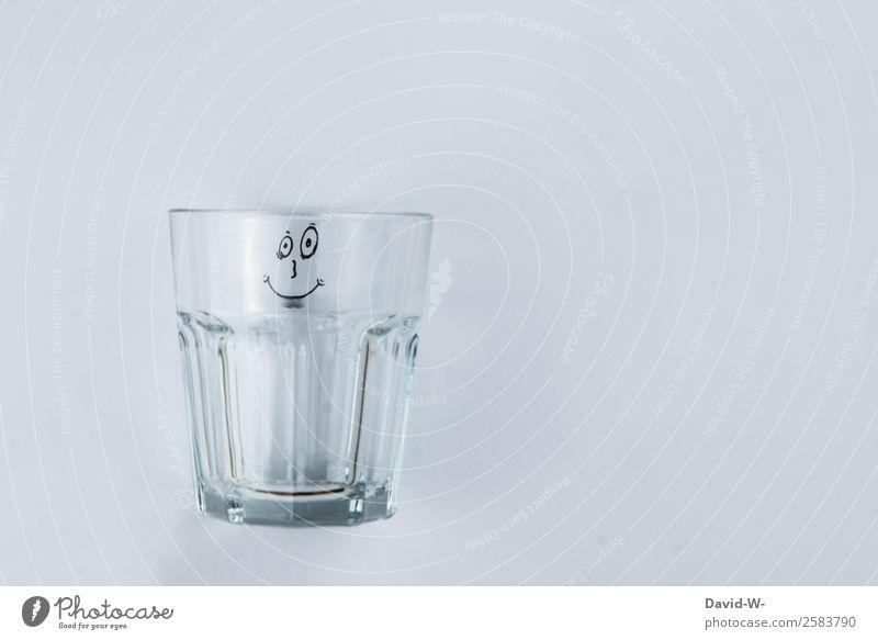 leerer Gesichtsausdruck Getränk trinken Erfrischungsgetränk Trinkwasser Glas Lifestyle elegant Stil Design Kindheit Kunst Kunstwerk beobachten Smiley grinsen