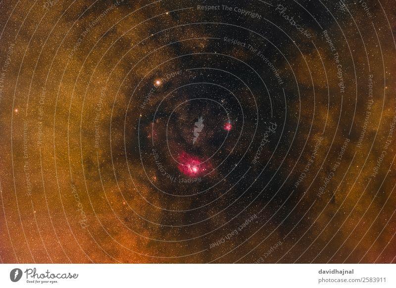 Galaktischer Kern Technik & Technologie Wissenschaften Raumfahrt Astronomie Umwelt Natur Landschaft Himmel nur Himmel Wolkenloser Himmel Nachthimmel Stern