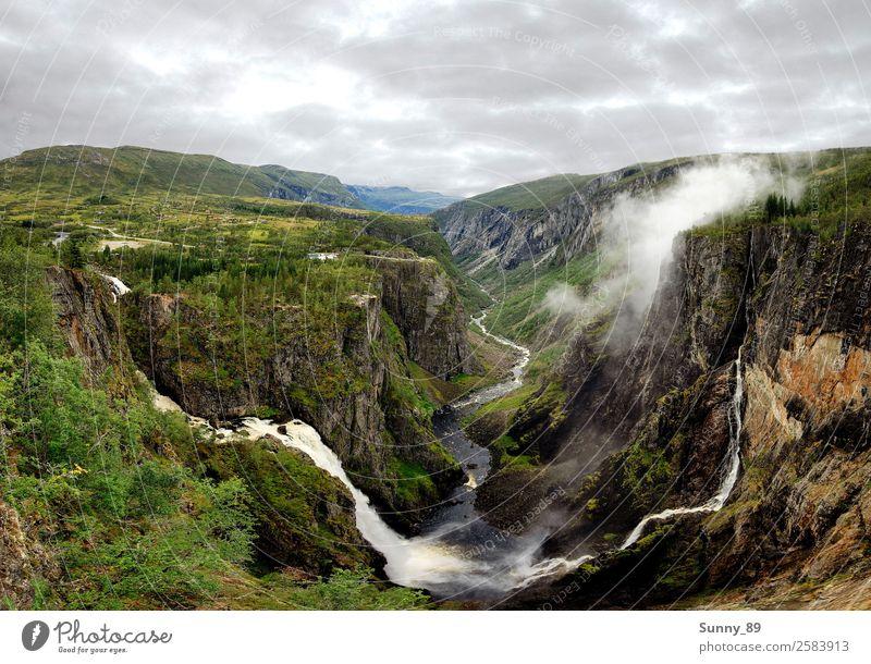 Nature Umwelt Landschaft Pflanze Tier Erde Luft Wasser Himmel Wolken Herbst Wetter Nebel Gras Sträucher Moos Berge u. Gebirge Gipfel Schlucht wandern Farbfoto