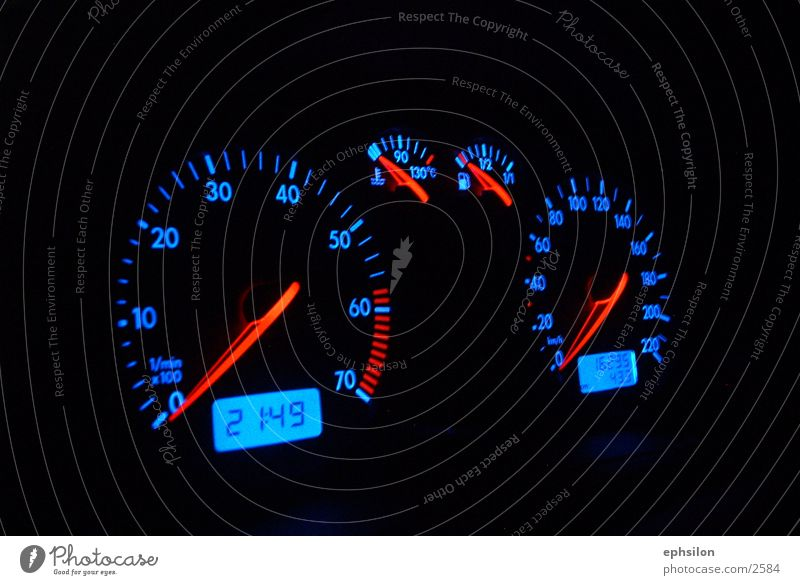 Tacho PKW Dinge Tachometer
