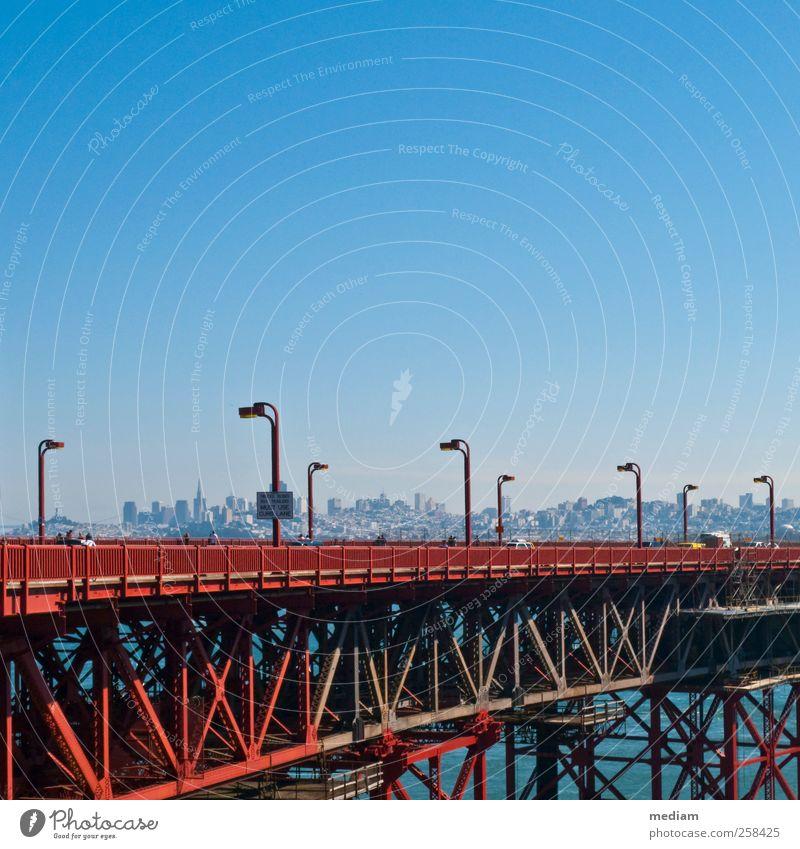 If you're going to... Ferien & Urlaub & Reisen Ferne Sightseeing Städtereise San Francisco Kalifornien San Francisco Bay Golden Gate Bridge Bay Area USA Stadt
