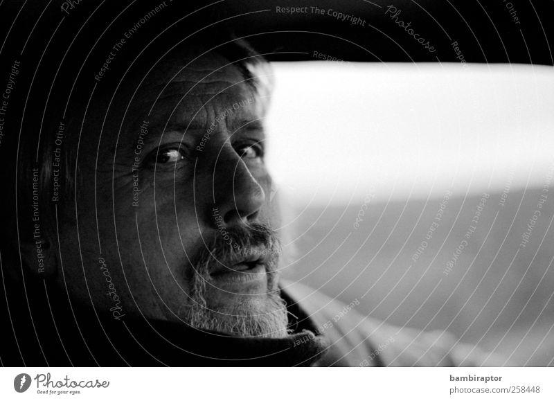 Mein Vater Mensch Mann alt Erwachsene Auge maskulin 45-60 Jahre Bart analog Porträt