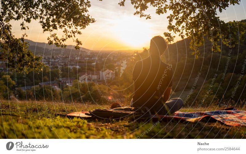 Lazy Summerday Picknick Freizeit & Hobby Ferien & Urlaub & Reisen Ausflug Ferne Städtereise Camping Sommer Sommerurlaub Sonne Sonnenbad Berge u. Gebirge wandern