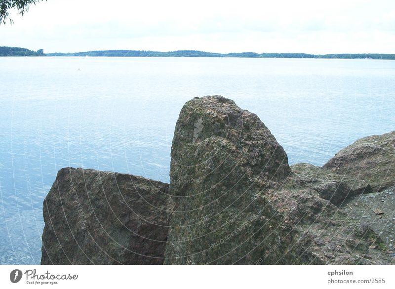 ufer See Küste Stein Wasser
