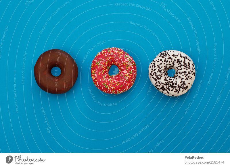 #A# Donatrio Kunst ästhetisch Krapfen lecker ungesund Kalorie Kalorienreich Fastfood Zucker süß Süßwaren Snack Snackbar Backwaren Farbfoto mehrfarbig