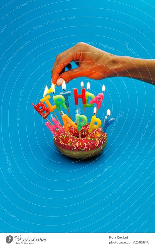 #A# Geburtstags-Zündeln Kunst Kunstwerk ästhetisch Happy Birthday Geburtstagstorte Geburtstagsgeschenk Geburtstagswunsch Wunsch Krapfen anzünden Vorbereitung