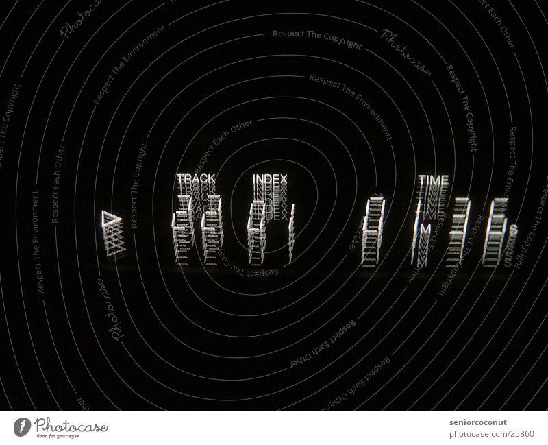 Play TFT-Bildschirm Licht CD Player Langzeitbelichtung Track 22 Anzeige Unschärfe