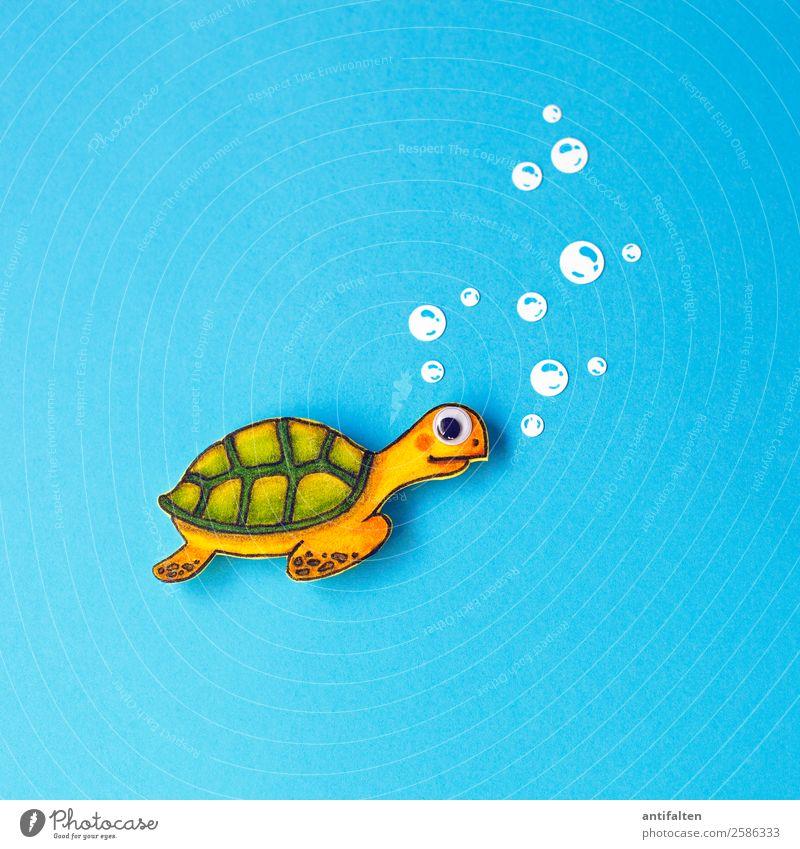 Speedy Freizeit & Hobby Basteln Moosgummi zeichnen Ferien & Urlaub & Reisen Tourismus Ferne Freiheit Sommer Sommerurlaub Umwelt Natur Klimawandel Meer Tier