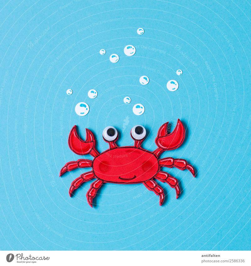 Karl Freizeit & Hobby Basteln zeichnen Moosgummi Ferien & Urlaub & Reisen Tourismus Abenteuer Sommer Meer Umwelt Klima Klimawandel Nordsee Tier Tiergesicht