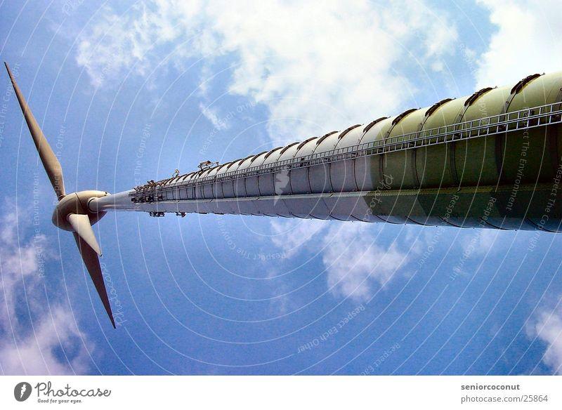 Energie Wolken Elektrisches Gerät Technik & Technologie Windkraftanlage Energiewirtschaft Himmel