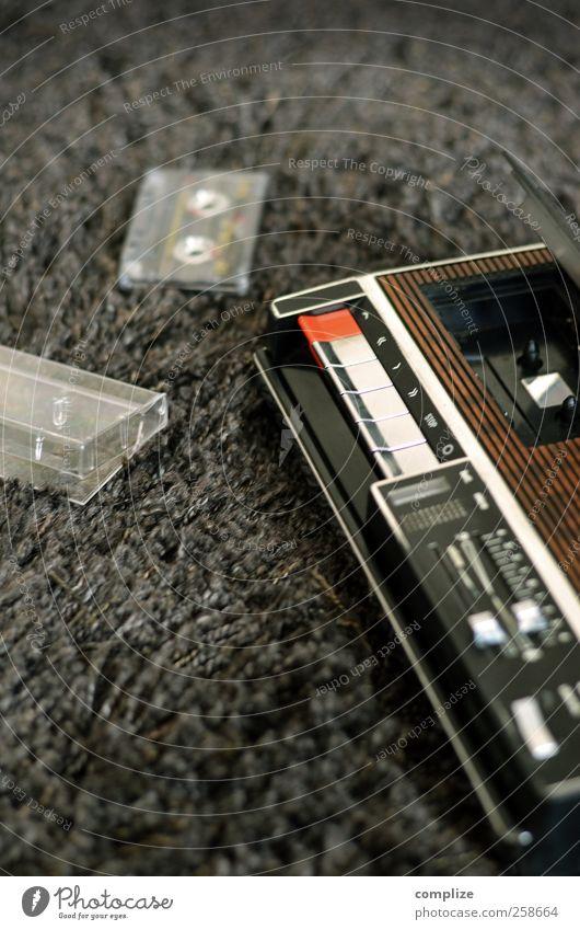 Rekorder Häusliches Leben Innenarchitektur Raum Nachtleben Veranstaltung Musik Diskjockey clubbing Tanzen Radiogerät Schnur trashig Idee Achtziger Jahre