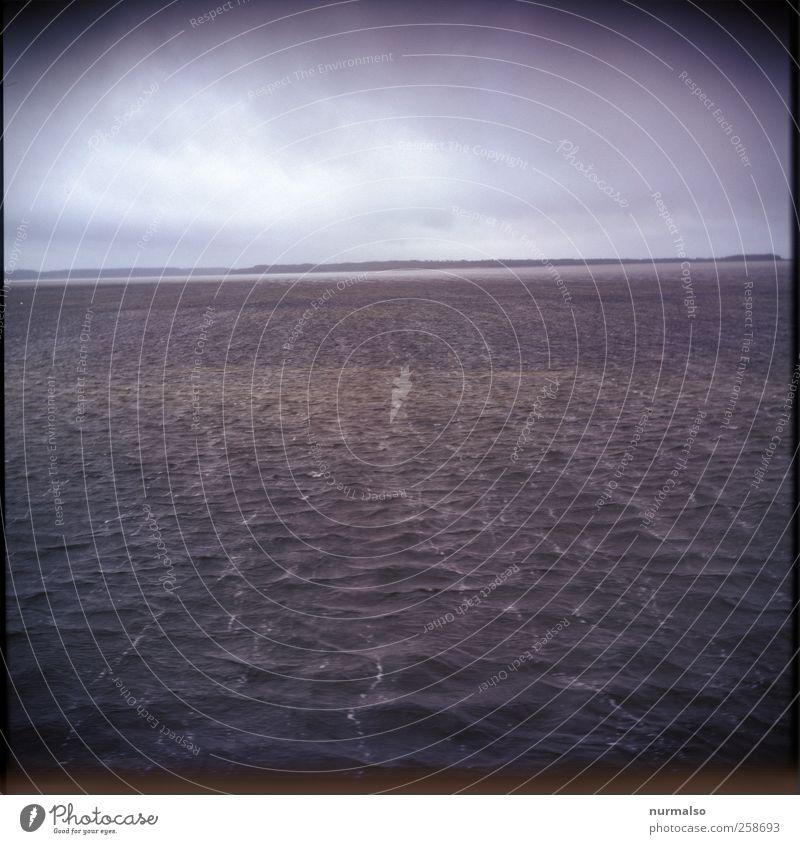 Stürmisch Natur Wasser Ferien & Urlaub & Reisen Meer Ferne Landschaft Freiheit Kunst Stimmung Wellen Wind Schwimmen & Baden Freizeit & Hobby Klima nass Ausflug