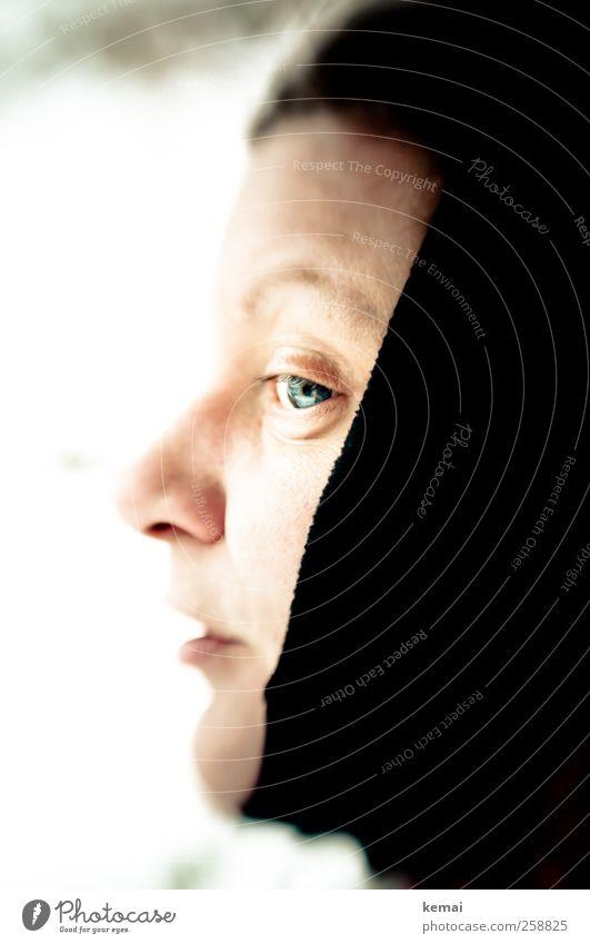 Baumloben | Fatma Frau Mensch schwarz Erwachsene Auge feminin Leben Kopf Mode Mund Nase Lifestyle Bekleidung Vorsicht Tuch 30-45 Jahre
