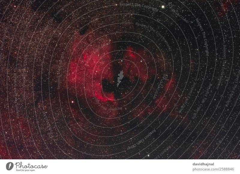 Nordamerika- und Pelikannebel Technik & Technologie Wissenschaften Fortschritt Zukunft High-Tech Raumfahrt Astronomie Nebel Nordamerikanebel Umwelt Natur Himmel