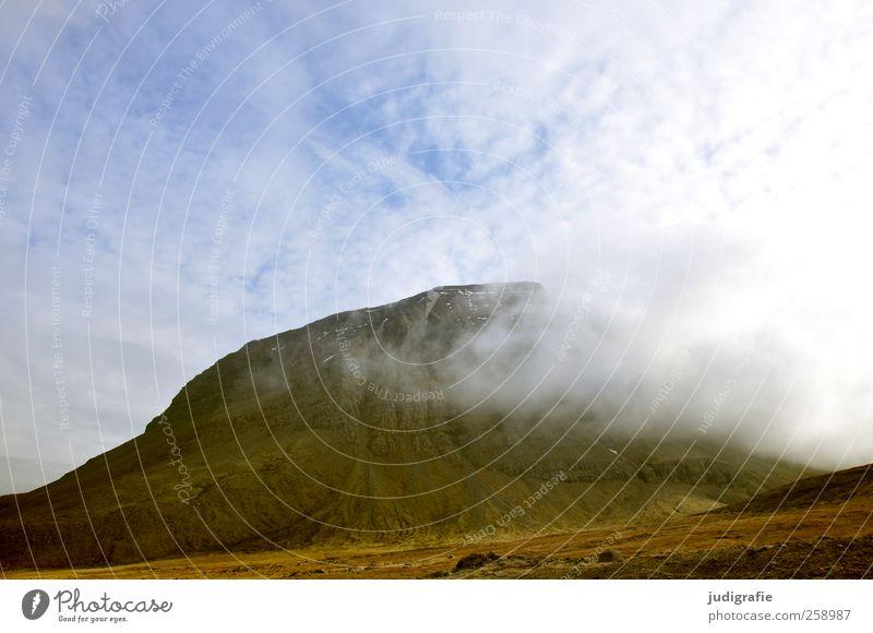 Island Himmel Natur Wolken Umwelt Landschaft Berge u. Gebirge Wetter braun Felsen natürlich wild Klima weich Hügel Island Vulkan