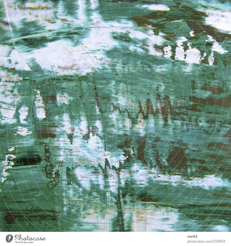 Öl auf Pappe schön Farbe Leben Bewegung klein Kunst hell träumen Design wild Kraft Kreativität Wandel & Veränderung Gemälde chaotisch trashig
