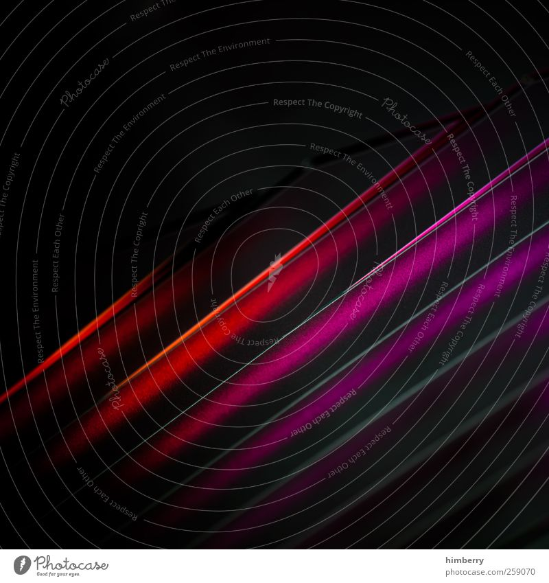 stripped rot schwarz Stil Hintergrundbild Kunst Design Musik Energie Technik & Technologie Zukunft Zeichen Güterverkehr & Logistik violett Kitsch Kunststoff Medien