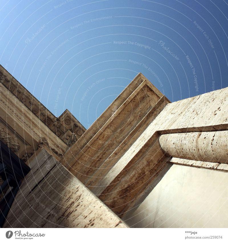 gebirge. Himmel alt weiß Architektur Stein Religion & Glaube Fassade Bauwerk Italien Wahrzeichen Sehenswürdigkeit Rom eckig Ornament Barock