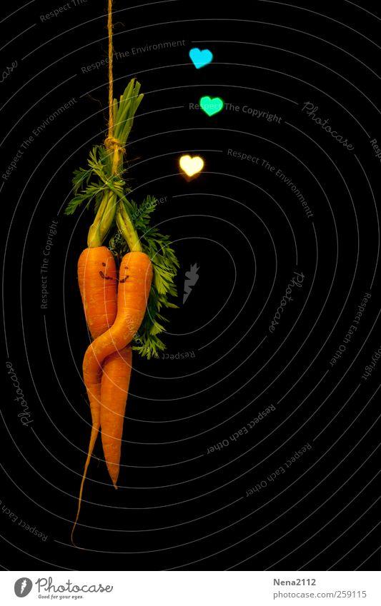 Valentin für Valentina... <3 Erholung Liebe Bewegung Glück Zusammensein Tanzen Lebensmittel Ernährung leuchten Lächeln Kommunizieren berühren Gemüse Küssen