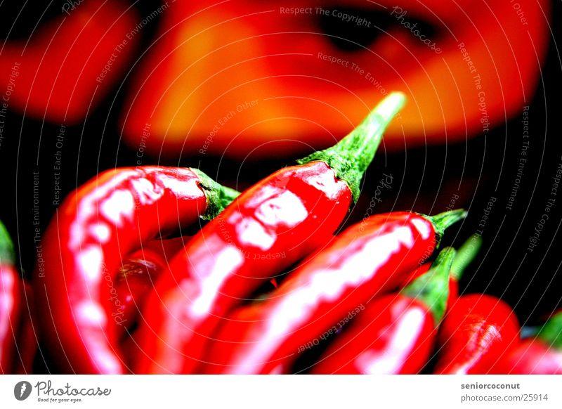 orientalische Schärfe Makroaufnahme Nahaufnahme Scharfer Geschmack chilli