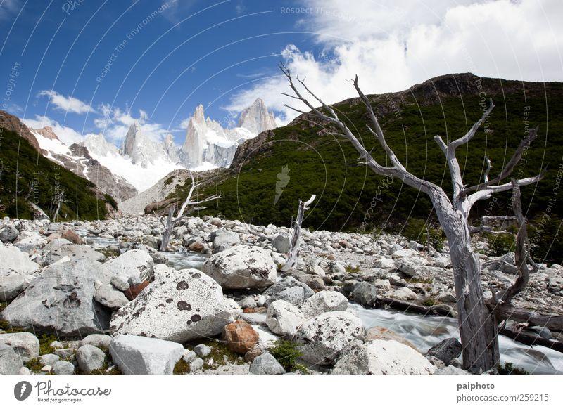 Himmel Natur Ferien & Urlaub & Reisen Pflanze Wasser Sommer Landschaft Wolken Ferne Umwelt Berge u. Gebirge Schnee natürlich Freiheit Wetter Eis