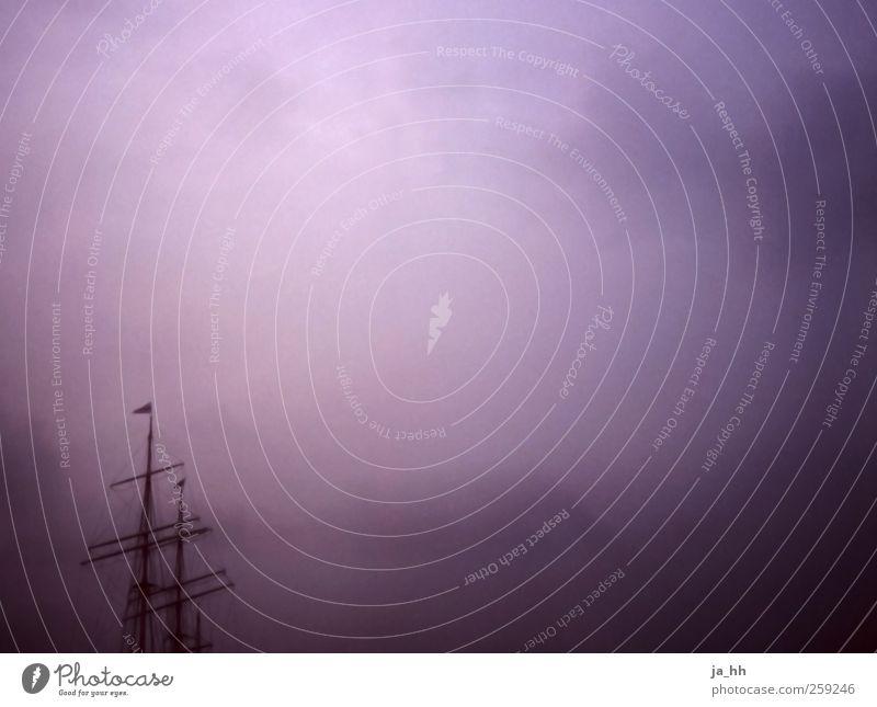 Hafen Wasser Meer Einsamkeit Wolken Ferne Freiheit Küste See Luft Stimmung Wind Abenteuer Urelemente Fluss Güterverkehr & Logistik