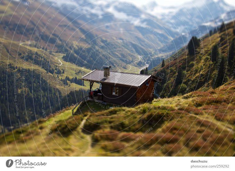 Sattelkopf Hütte Ferien & Urlaub & Reisen Ausflug Abenteuer wandern Natur Landschaft Alpen Berge u. Gebirge St. Anton Österreich Europa Arlberg Farbfoto