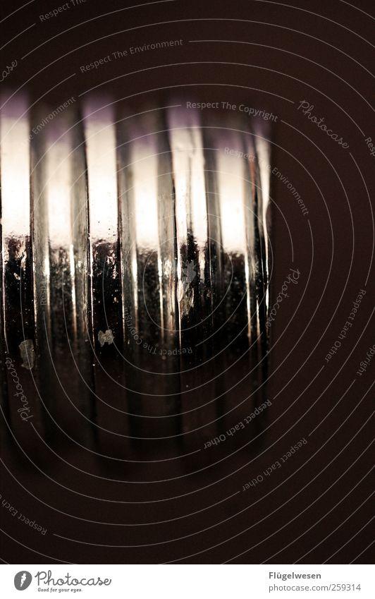 Gewinde glänzend Schraube Bildausschnitt Anschnitt Objektfotografie Schraubengewinde Drehgewinde