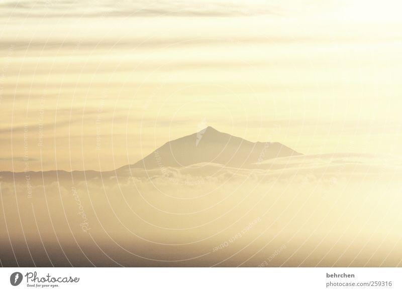 wellness Ferien & Urlaub & Reisen Tourismus Ausflug Ferne Freiheit Natur Landschaft Himmel Wolken Sonnenaufgang Sonnenuntergang Schönes Wetter Berge u. Gebirge