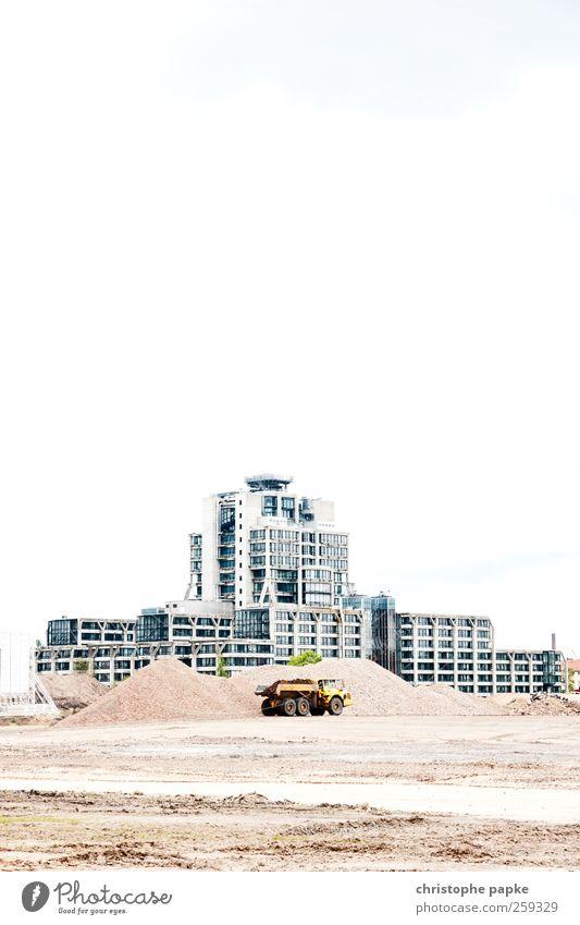 Mission to mars Industrie Baustelle Frankfurt am Main Stadtzentrum Menschenleer Industrieanlage Fabrik Bauwerk Gebäude Architektur Güterverkehr & Logistik bauen