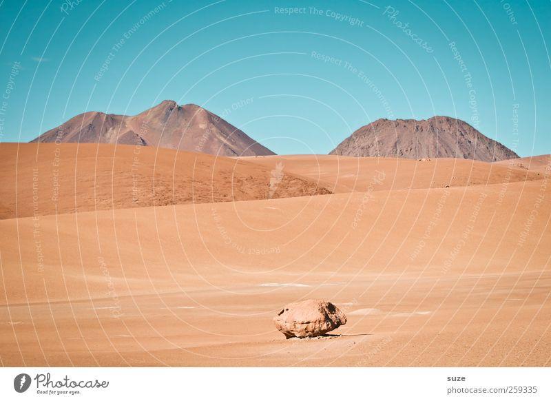 Little Rock Sommer Berge u. Gebirge Umwelt Natur Landschaft Urelemente Erde Sand Luft Himmel Horizont Klima Wetter Schönes Wetter Wärme Felsen Wüste Stein
