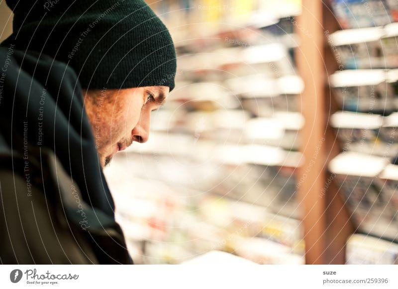 UpToDate Mensch Mann Jugendliche Gesicht Erwachsene Freizeit & Hobby maskulin kaufen Studium Lifestyle lesen 18-30 Jahre Bildung Kultur Zeitung Student