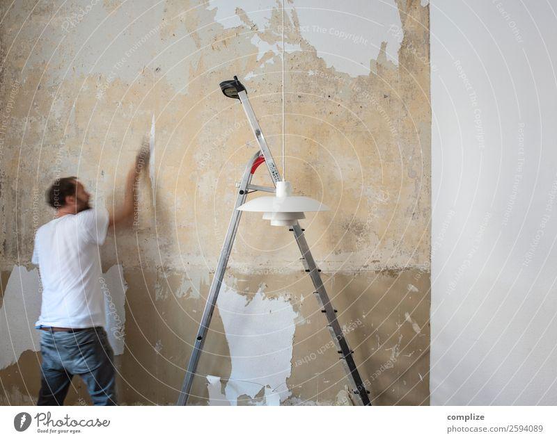 Renovieren | do it yourself Häusliches Leben Wohnung Haus Hausbau Umzug (Wohnungswechsel) einrichten Berufsausbildung Baustelle Handwerk Stein bauen planen