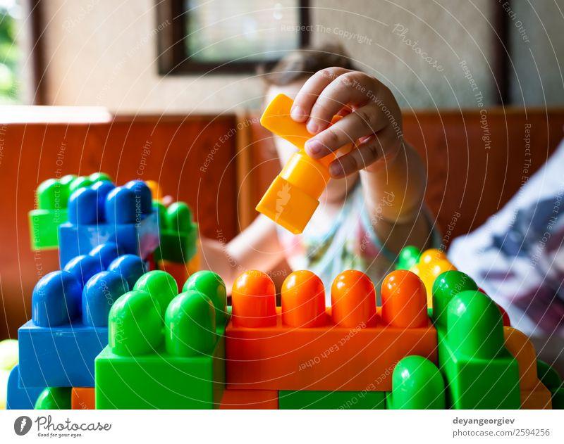 Kind Freude Gebäude klein Spielen Schule Freizeit & Hobby Kindheit Baby Spielzeug heimwärts Kleinkind Kindergarten reizvoll Vorschule