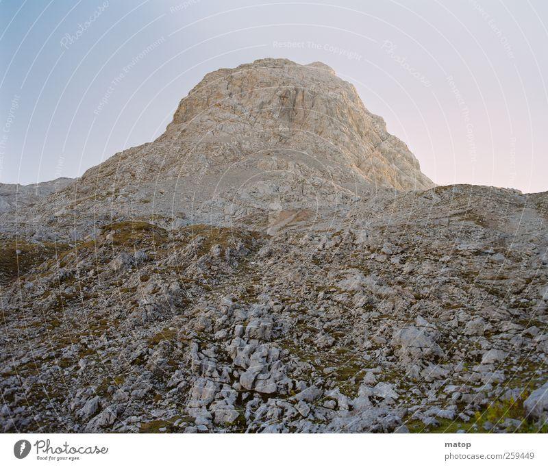 Gefälliger Fels Ferien & Urlaub & Reisen Berge u. Gebirge Natur Landschaft Wolkenloser Himmel Schönes Wetter Dürre Felsen Alpen Schönfeldspitze Österreich