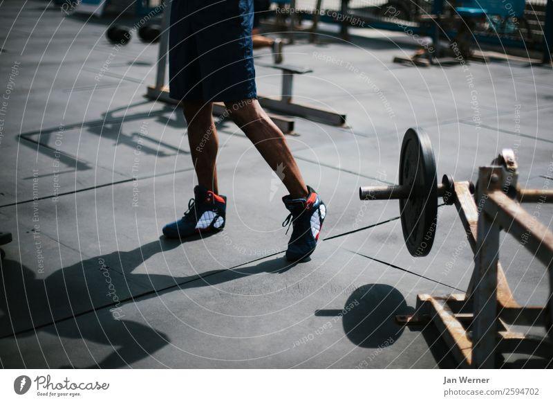 Kraft Lifestyle schön Körperpflege Gesundheit Gesunde Ernährung sportlich Fitness Freizeit & Hobby Sommer Strand Sport Sport-Training Sportler Bodybuilding