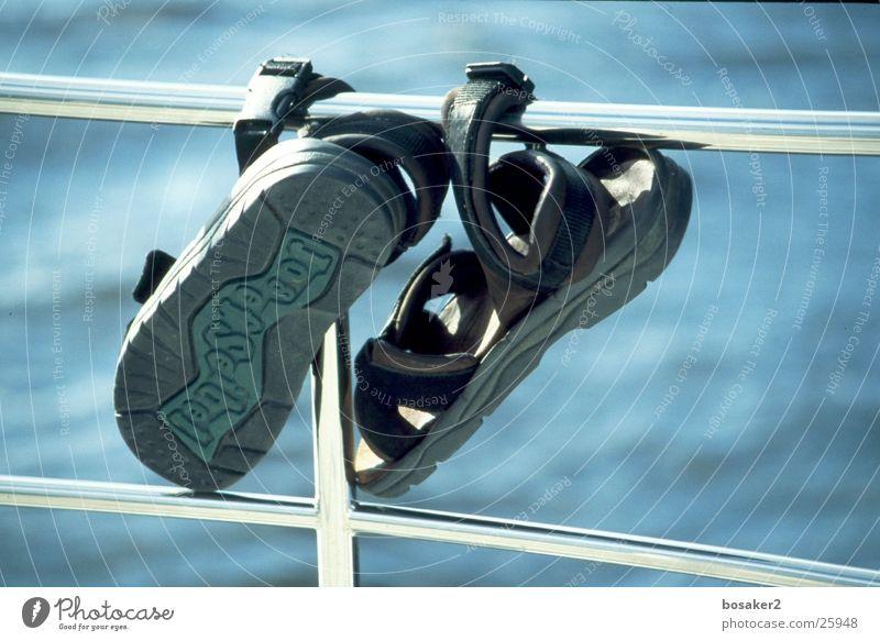 Schlappehaenger Wasser Meer blau See Schuhe Freizeit & Hobby Flipflops