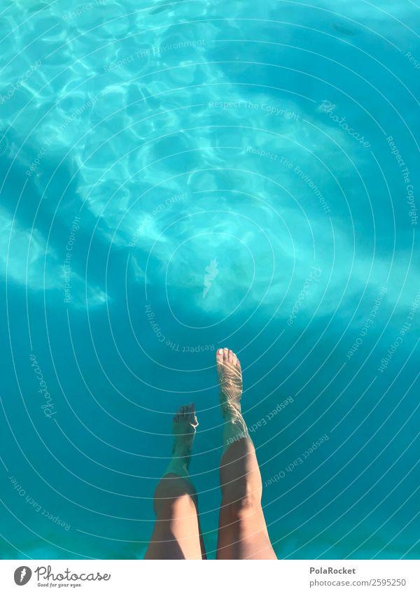 #A# Am Pool schön ästhetisch Schwimmbad Ferien & Urlaub & Reisen Urlaubsfoto Urlaubsstimmung Urlaubsort Urlaubsgrüße Urlaubsflirt Beine blau Frau Erotik