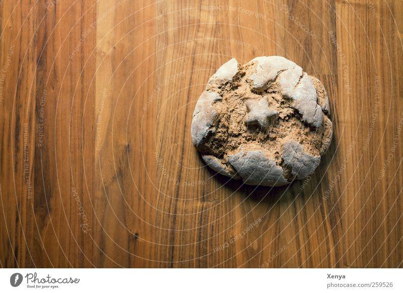 Brot Ernährung Lebensmittel braun Stern (Symbol) lecker Duft Backwaren Teigwaren Krustenbrot