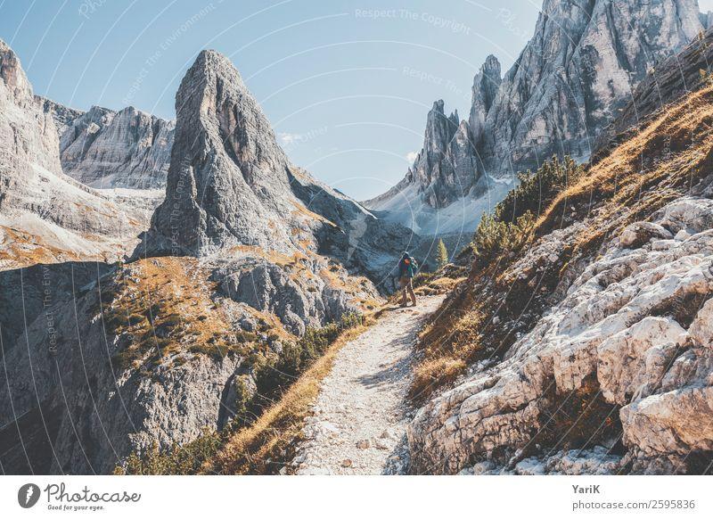 Daumen hoch Ferien & Urlaub & Reisen Tourismus Ausflug Abenteuer Freiheit Berge u. Gebirge wandern Umwelt Natur Landschaft Urelemente Herbst Schönes Wetter