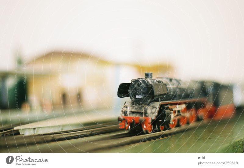 Miniatur Ferien & Urlaub & Reisen Freizeit & Hobby Verkehr Eisenbahn retro Mobilität Bahnhof Bahnsteig Bahnfahren Modellbau Schienenverkehr Modelleisenbahn Dampflokomotive maßstabsgerecht