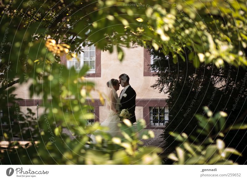 Ab jetzt gemeinsam Mensch maskulin Junge Frau Jugendliche Junger Mann Erwachsene Körper 2 18-30 Jahre nachhaltig Liebe Verliebtheit Treue Romantik Paar Braut