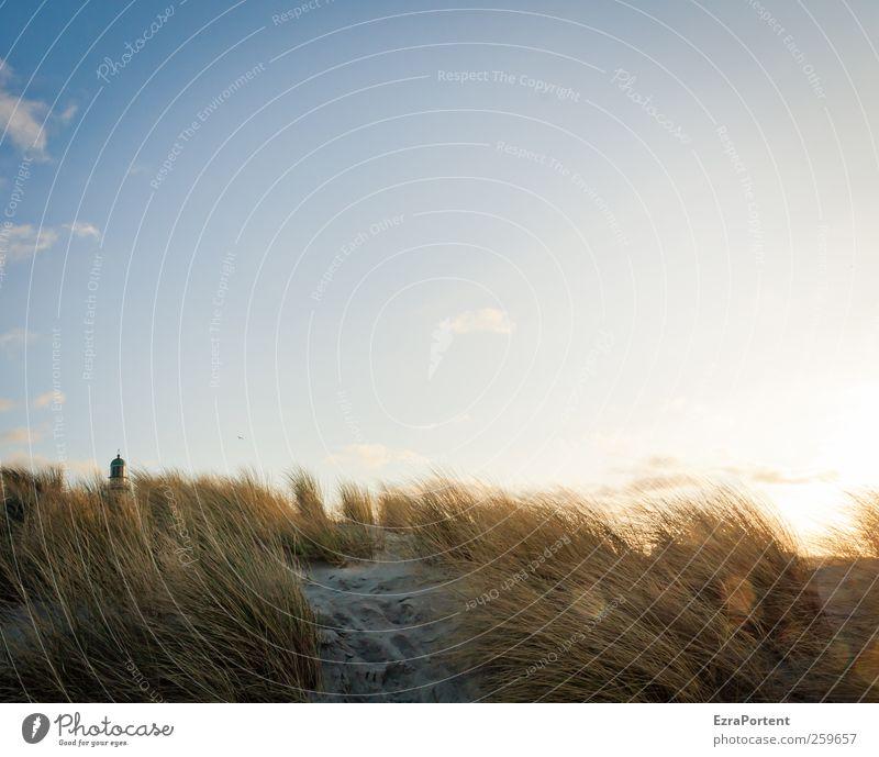 14.01.2012 Ferien & Urlaub & Reisen Sonne Strand Meer Natur Landschaft Sand Himmel Wolken Herbst Winter Schönes Wetter Gras Küste Ostsee Warnemünde