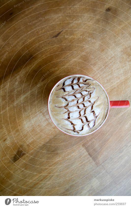 latte art - barista Lebensmittel Feste & Feiern Zufriedenheit Wohnung Tisch Dekoration & Verzierung Getränk Lifestyle Kaffee trinken Flüssigkeit Tasse Lebensfreude genießen Duft Schokolade
