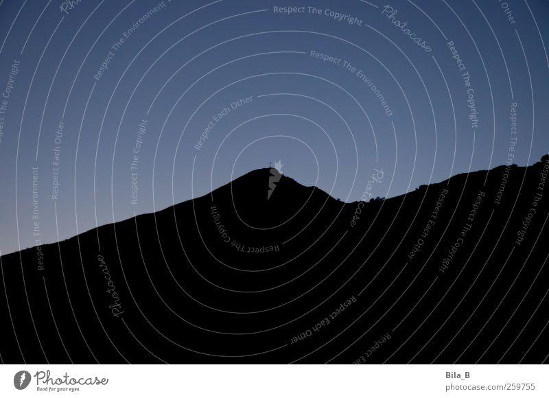 Monte Folgorito Himmel Natur blau schwarz Umwelt Landschaft Berge u. Gebirge Erde Hoffnung Urelemente Sehnsucht Gipfel Glaube Kreuz Schmerz Mut