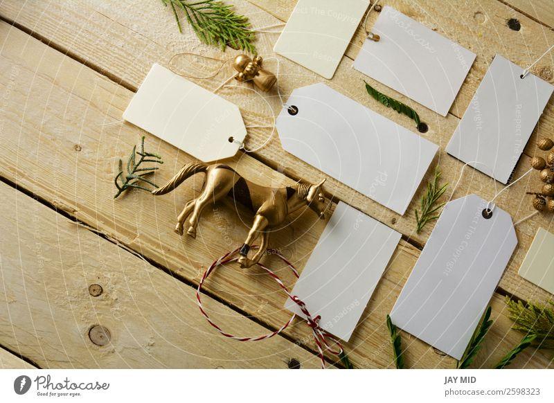 weiß ruhig Business braun Dekoration & Verzierung Geschenk kaufen Papier Information Sammlung Spitze festlich rustikal verkaufen Mitteilung Schleife