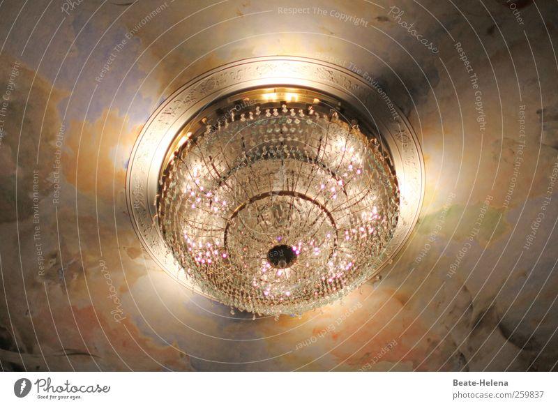 Stella Crystallina Häusliches Leben Innenarchitektur Dekoration & Verzierung Lampe Stern leuchten ästhetisch gold silber Geborgenheit Warmherzigkeit