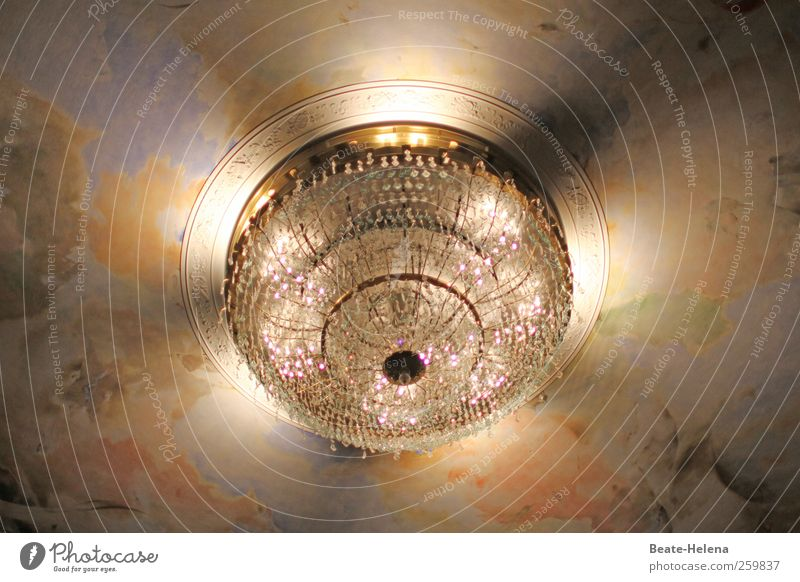 Stella Crystallina Lampe Innenarchitektur gold Stern Energie Design ästhetisch Dekoration & Verzierung leuchten Häusliches Leben Sauberkeit Warmherzigkeit Weltall silber Planet edel