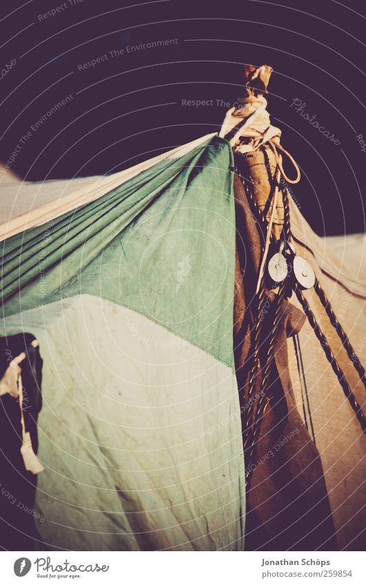 Zeltmast II Ferien & Urlaub & Reisen Ferne Umwelt Stil Lifestyle Freiheit wild ästhetisch Ausflug Lebensfreude Armut Schönes Wetter Abenteuer Stoff exotisch